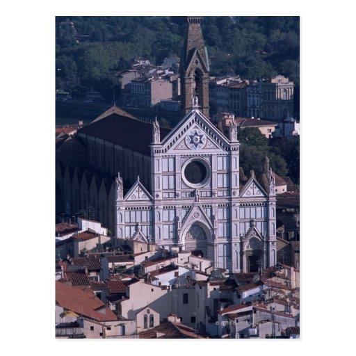 Basilica Santa Croce Postcard
