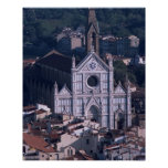 Basilica Santa Croce Poster