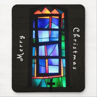 Basilica Stained Glass Mousepad