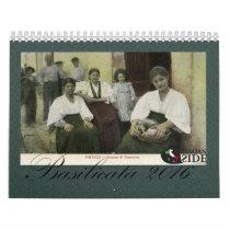 Basilicata - Italia Calendar
