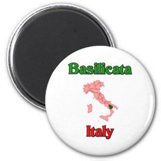 Basilicata Italy 2 Inch Round Magnet