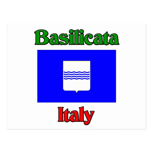 Basilicata Italy Postcard