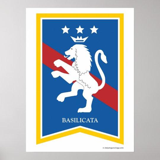 Basilicata italy Region Poster