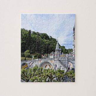 BasilicaWithTrees Jigsaw Puzzle
