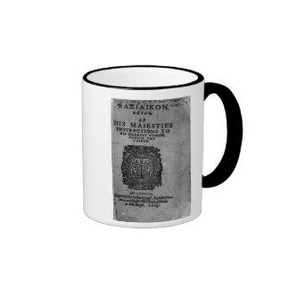 Basilicon Doron, 1603 Ringer Coffee Mug