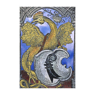 Basilisk Dragon of Venice Canvas Print