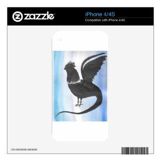 Basilisk on Blue iPhone 4 Skins