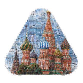 Basil's Cathedral collage - russia - kremlin Speaker