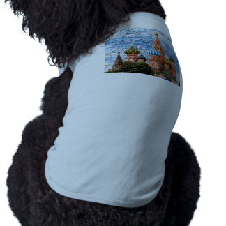 Basil's Cathedral collage - russia - kremlin Tee