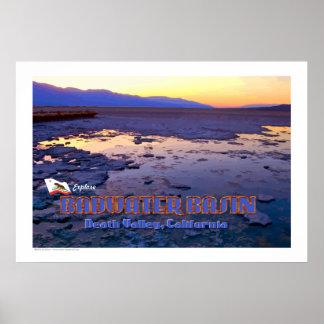 Basin - Death Valley, California Print
