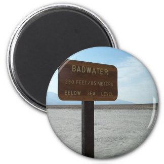 Basin, Death Valley National Park 2 Inch Round Magnet