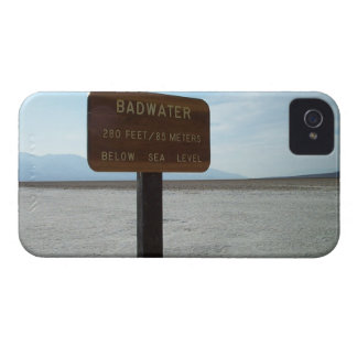 Basin, Death Valley National Park iPhone 4 Cover