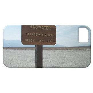 Basin, Death Valley National Park iPhone SE/5/5s Case