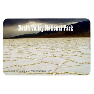 Basin Death Valley Rectangular Photo Magnet