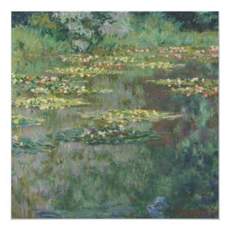 Basin of Water Lilies by Claude Monet Card
