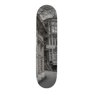 Basin Park And Flatiron Flats Grayscale Skateboard Deck