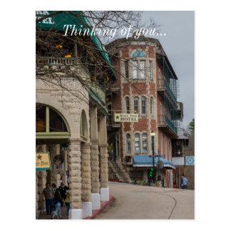 Basin Park And Flatiron Flats Postcard
