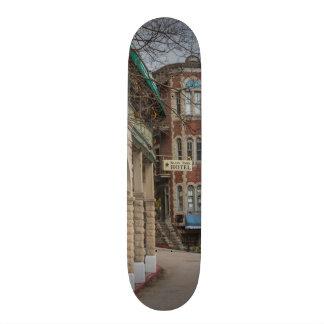 Basin Park And Flatiron Flats Skateboard Deck