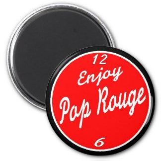 Basin St Soda Co Enjoy Pop Rouge Magnet
