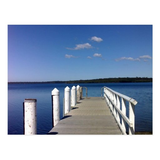 Basin View NSW Australia Postcard
