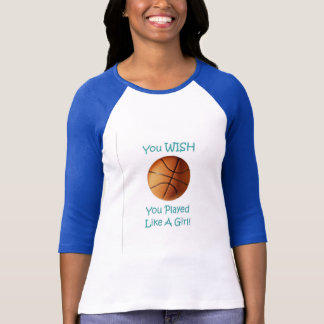 Baskeball Girl T-Shirt