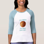 Baskeball Girl T-shirt