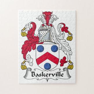 Baskerville Family Crest Puzzle