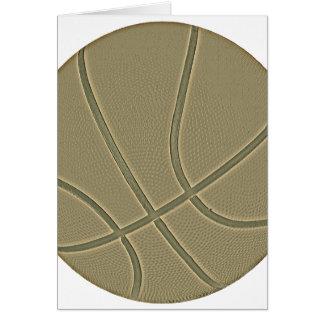 Basket Ball Greeting Card