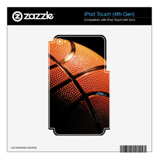 Basket Ball Close Up iPod Touch 4G Decal