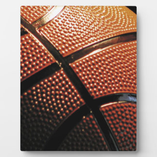 Basket Ball Close Up Plaque