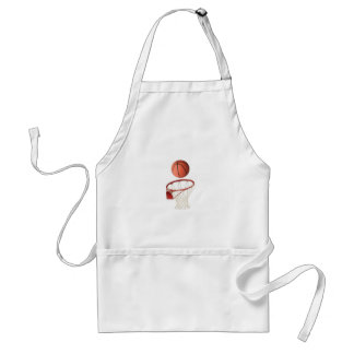 """""""Basket ball"""" design gifts and products Adult Apron"""