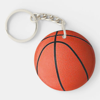 """Basket Ball"" design gifts and products Keychain"