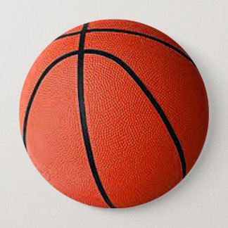 """Basket Ball"" design gifts and products Pinback Button"