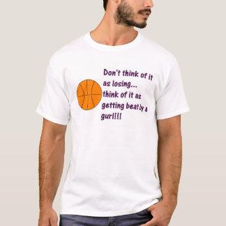 Basket Ball Girl T-Shirt