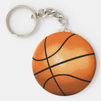 Basket Ball Keychain