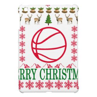 BASKET BALL MERRY CHRISTMAS . COVER FOR THE iPad MINI
