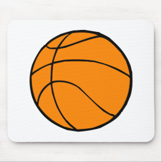 Basket Ball Mouse Pad