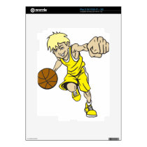 BASKET BOY BLONDE DECAL FOR THE iPad 2
