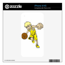 BASKET BOY BLONDE SKIN FOR iPhone 4