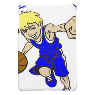 BASKET BOY BLUE iPad MINI COVERS