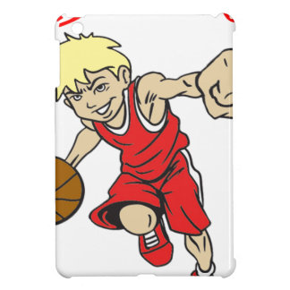 BASKET BOY RED TEXT COVER FOR THE iPad MINI