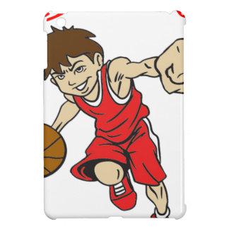 BASKET BOY RED TEXT iPad MINI COVERS
