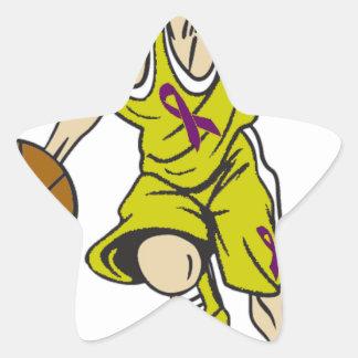 BASKET BOY STAR STICKER