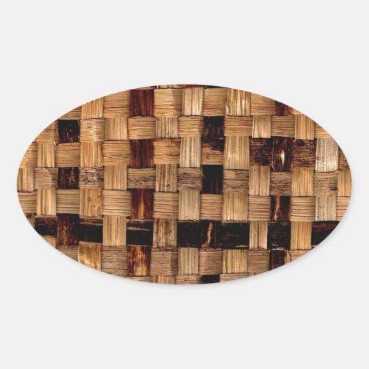 Basket Case 2 Oval Sticker