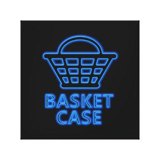 Basket case. canvas print