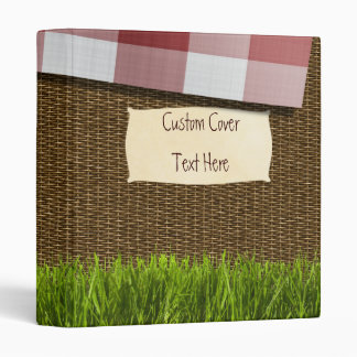 "Basket Case Custom 1"" Binder"
