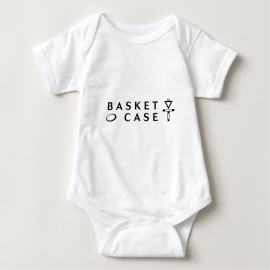 Basket Case Disc Golf Original Baby Bodysuit