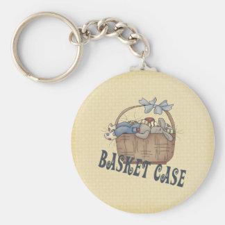 Basket Case Keychain