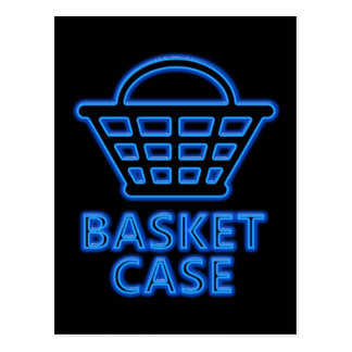 Basket case. postcard