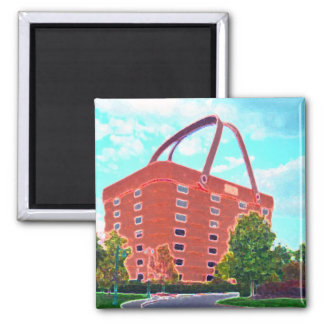 Basket Central Fridge Magnet